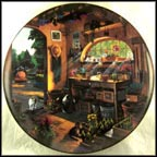 Afternoon Serenity Collector Plate by Dave Henderson