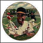 Frank Robinson Collector Plate by Ted Sizemore