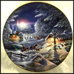 Evening Frost Collector Plate by Terry Redlin MAIN
