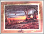 Country Neighbours Collector Plate by Terry Redlin MAIN