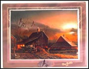 Prepared For The Season Collector Plate by Terry Redlin MAIN