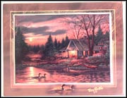 Quiet Of The Evening Collector Plate by Terry Redlin MAIN