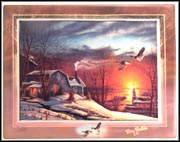 Sharing Season Collector Plate by Terry Redlin MAIN