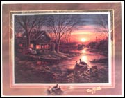 Twilight Serenity Collector Plate by Terry Redlin