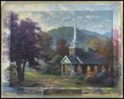 Summer - Streams Of Living Water Collector Plate by Thomas Kinkade