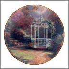 May - Lilac Gazebo Collector Plate by Thomas Kinkade