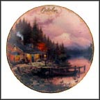 October - End Of A Perfect Day Collector Plate by Thomas Kinkade