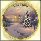 Lights Of Liberty Collector Plate by Thomas Kinkade