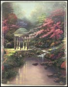 Pools Of Serenity Collector Plate by Thomas Kinkade