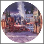 Early Morning Arrival Collector Plate by Kirk Randle