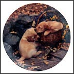 Brotherly Love Collector Plate by Sharon Eide & Elizabeth Flynn