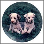 Seeing Double Collector Plate by Sharon Eide & Elizabeth Flynn
