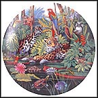 The Rainforest Collector Plate by Gene Dieckhoner