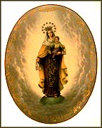 Our Lady Of Mt. Carmel Collector Plate by Hector Garrido MAIN