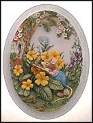 Spring Story Collector Plate by Jill Barklem