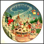 Fantasyland Collector Plate by Disney Studio Artists