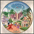 Liberty Square Collector Plate by Disney Studio Artists