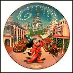 Main Street, U. S. A. Collector Plate by Disney Studio Artists