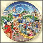 Remember The Magic Parade Collector Plate by Disney Studio Artists