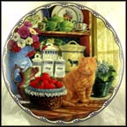Annebell's Simple Pleasures Collector Plate by Mary Ann Lasher