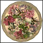 Morning Glory Collector Plate by Janene Grende