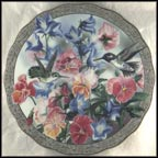 Splendid Encounter Collector Plate by Janene Grende