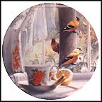 The Kitchen: Goldfinches Collector Plate by Kevin Daniel