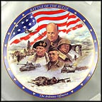 The Battle Of The Bulge Collector Plate by James Griffin