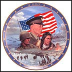 D-Day Collector Plate by James Griffin