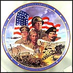 The Italian Campaign Collector Plate by James Griffin MAIN