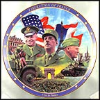 Liberation Of France Collector Plate by James Griffin