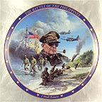 The Battle of the Philippines Collector Plate by James Griffin