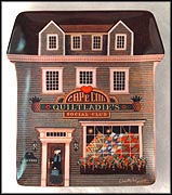The Quilt Ladies Social Club Collector Plate by Charles Wysocki