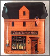 The Sweet Shop Collector Plate by Charles Wysocki