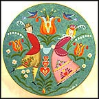 Spring Celebration Collector Plate by Fred Wallin