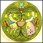 Summer Bounty Collector Plate by Fred Wallin