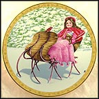 Sleigh Belles - artist signed Collector Plate by Jack Appleton