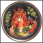 Vasilisa The Beautiful Collector Plate by Gleb Vasilievich Lubimov MAIN
