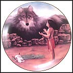 The Quest Collector Plate by Debra Colburn