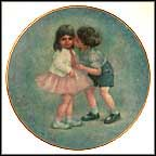 First Kiss Collector Plate by Rosemary Calder