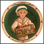 The Hearty Sailor Collector Plate by Jan Hagara