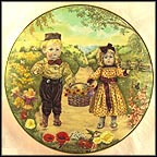 A Basket Of Love Collector Plate by Cynthia Knapton