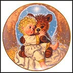 Legend Of The Prayer Bear I Collector Plate by Tim Hildebrandt