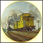Brief Encounter - Toronto, Hamilton & Buffalo Railway Collector Plate by Theodore A. Xaras MAIN