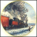 Symphony in Steam - Canadian Pacific Railway Collector Plate by Theodore A. Xaras