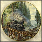 Timber Country Collector Plate by Theodore A. Xaras MAIN