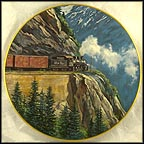 White Pass - Gateway to the Yukon Collector Plate by Theodore A. Xaras