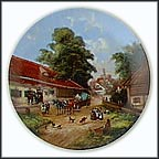 The Farmer's Wedding Collector Plate by Christian Lückel