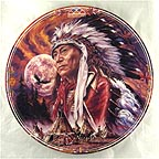 Spirit of the Full Moon Collector Plate by Bruce Lakofka MAIN