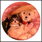 Everyone Needs A Teddy Collector Plate by Ron Iverson